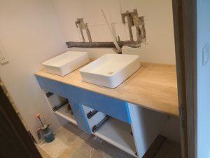 Salle de bain en Ikea Hack